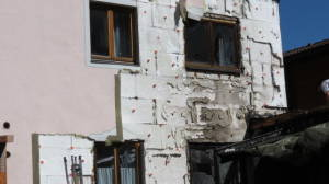 Brandschaden - MFH Torghele, Rauris