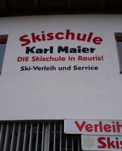 Skischule Karl Maier, Rauris